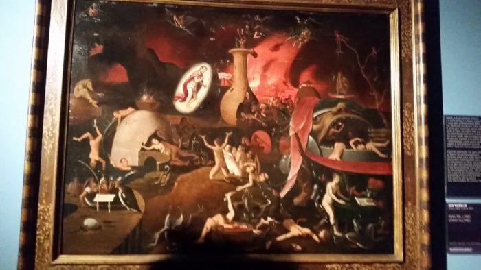 Jan Mandijn, Gesù nel Limbo