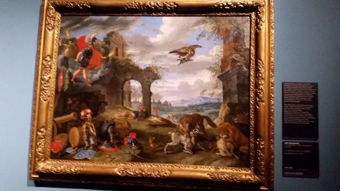Jan Bruegel, Allegoria della guerra