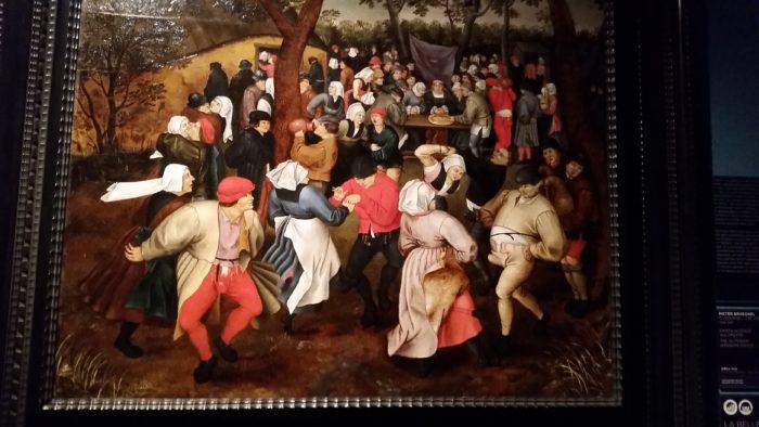 Pieter Bruegel il Giovane, Danza nuziale all'aperto